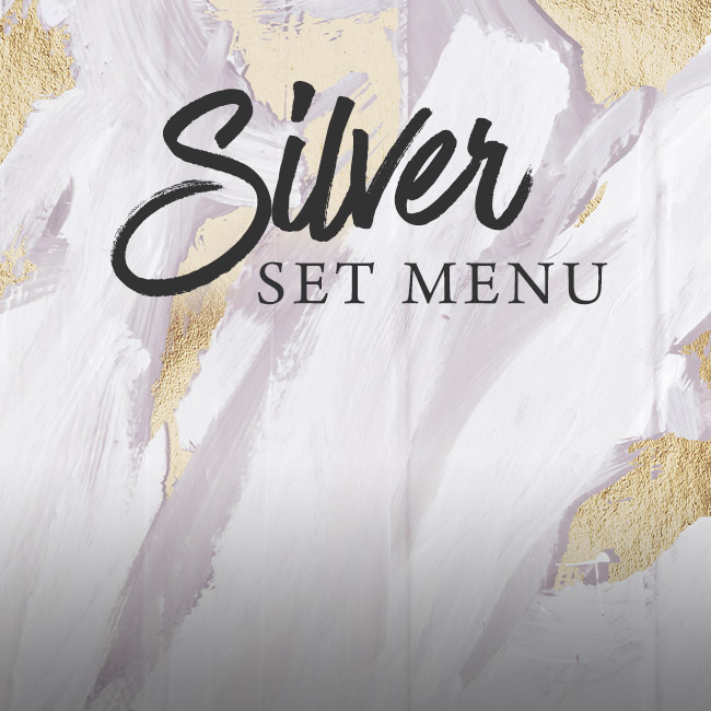Silver set menu at The Corner House