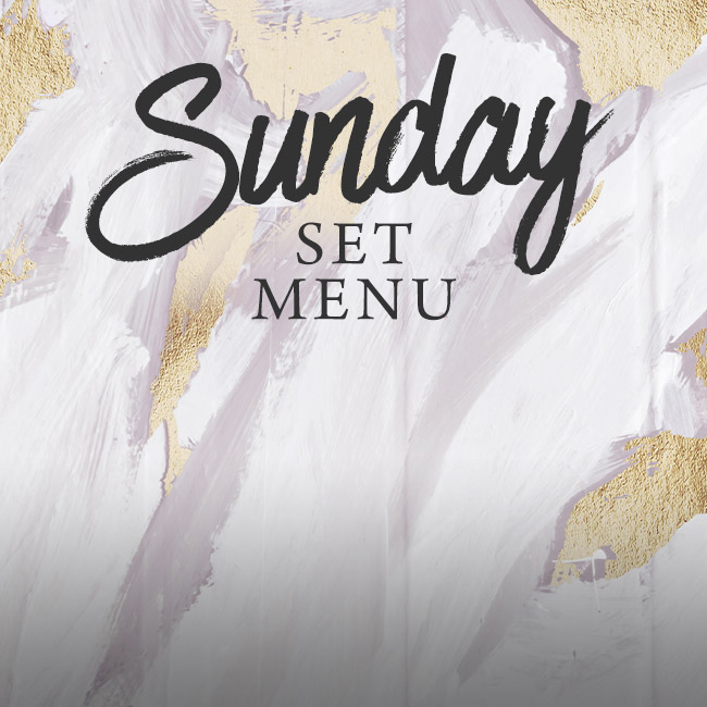 Sunday set menu at The Corner House