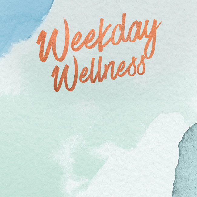 Weekday Wellness at The Corner House