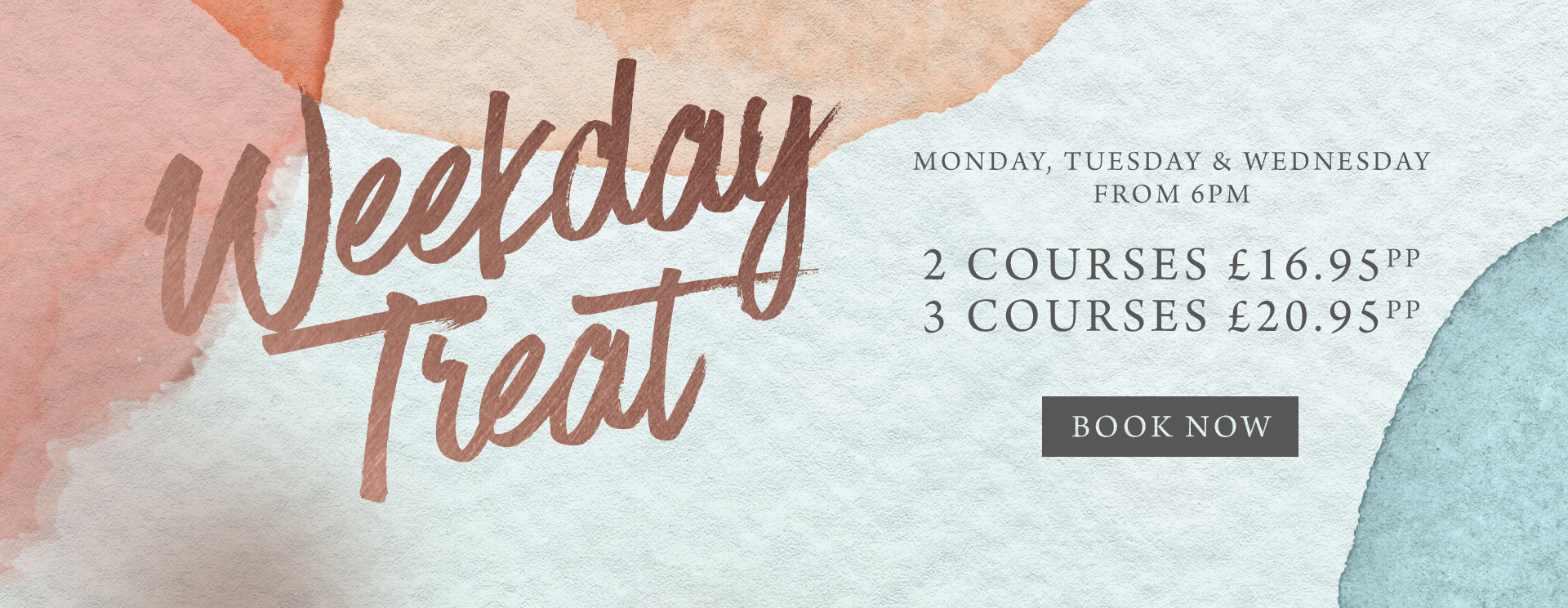 Weekday treat at The Corner House - Book now